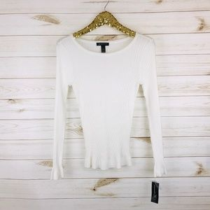 NWT INC International Concepts Stripped Sweater